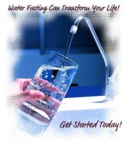 what is fasting water fasting