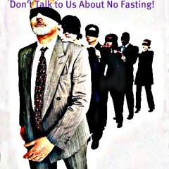 Water Fasting for Weight Loss - Blindfold