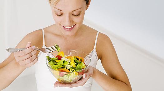 Breaking a Fast Salad