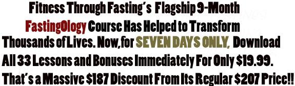 Fastingology Program