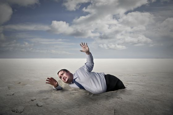 fasting for weight loss stuck in quicksand