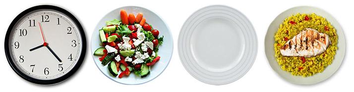Half week intermittent fasting